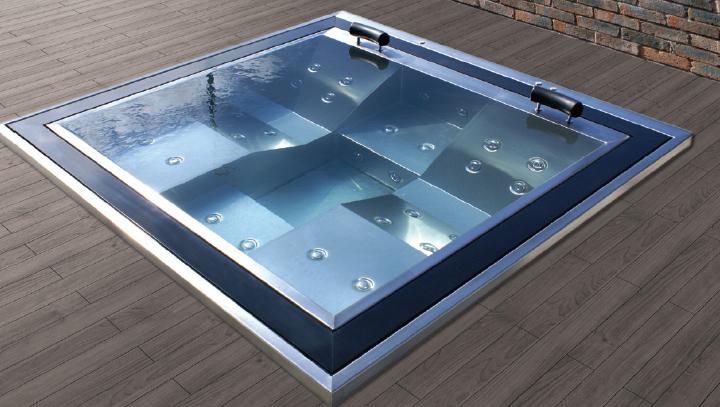 spa d bordement spa professionnel et commercial piscines fitness sa. Black Bedroom Furniture Sets. Home Design Ideas