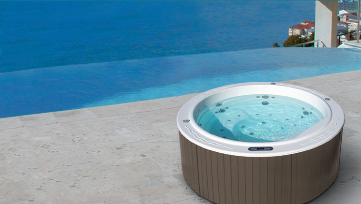 Spa jacuzzi rond 5 places