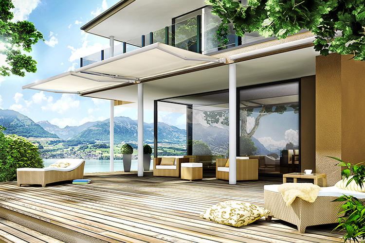 protections solaires et pluviales stores pour terrasses balcons et jardins. Black Bedroom Furniture Sets. Home Design Ideas
